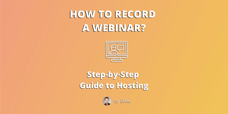 How to Record a webinar - featured image-opt