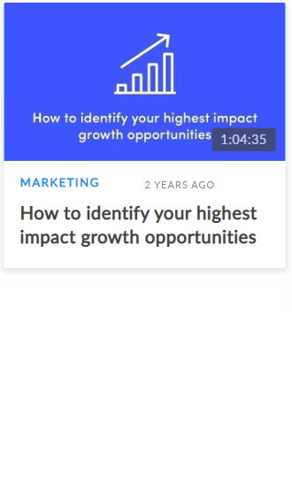 Kissmetrics webinar example