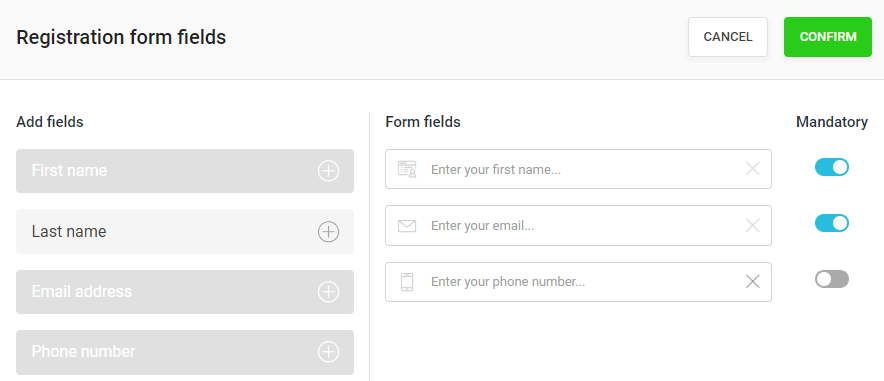 WebinarJam registration form setup