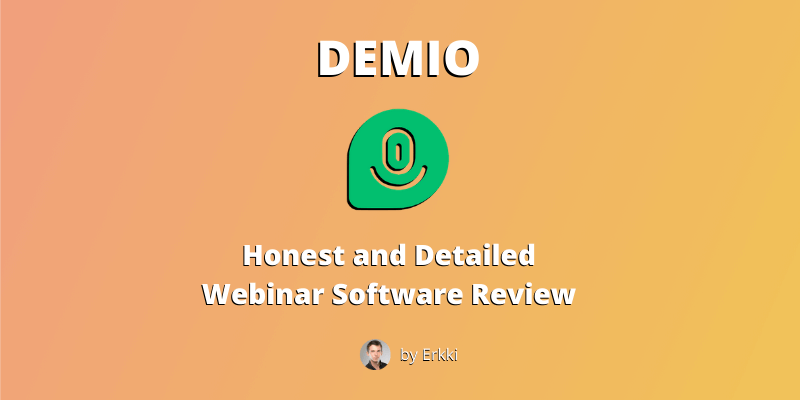 Demio review - featured image