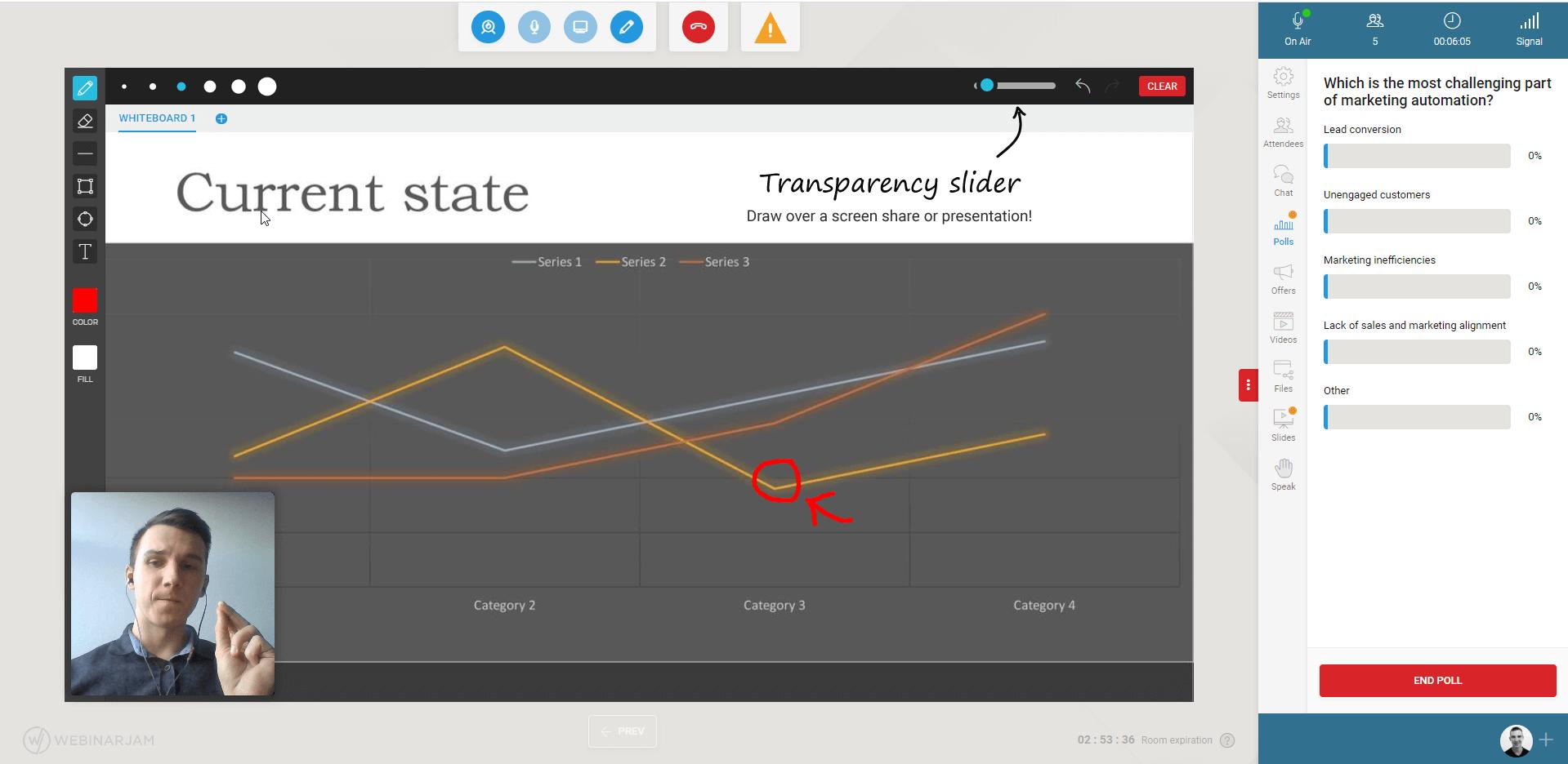 WebinarJam live polls