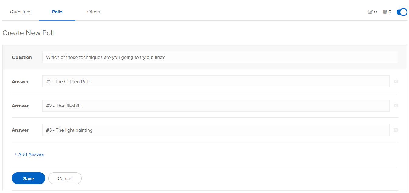 WebinarNinja Polls