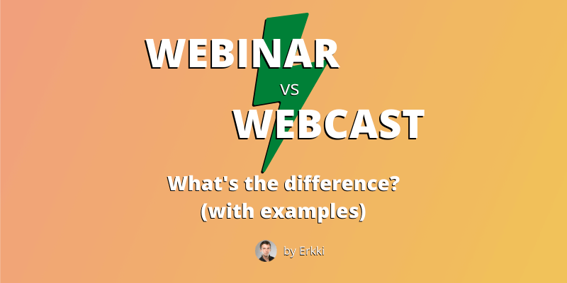 webinar vs webcast - featured image