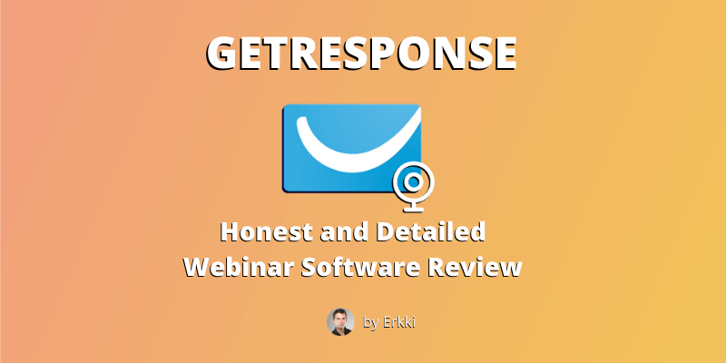 GetResponse webinar review featured image