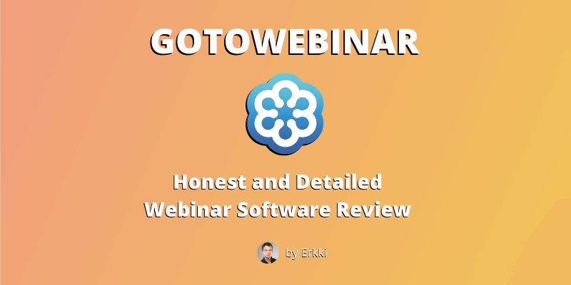 GoToWebinar Review - Featured Image