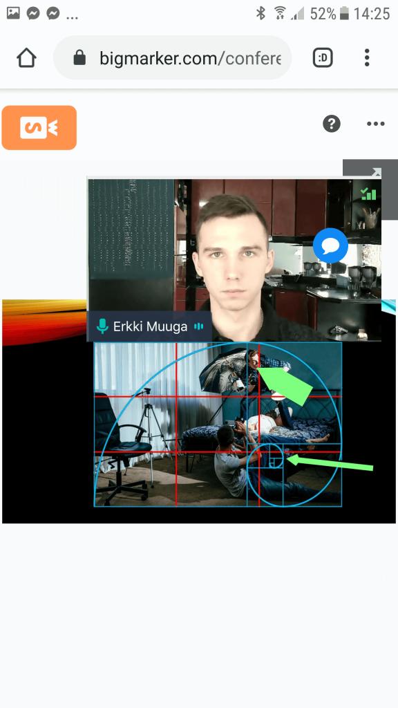 BigMarker Android - Slides + Webcam