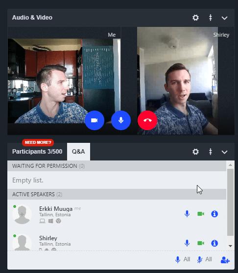 LiveWebinar Q&A session