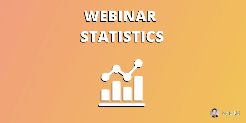 Webinar Statistics Featured Image